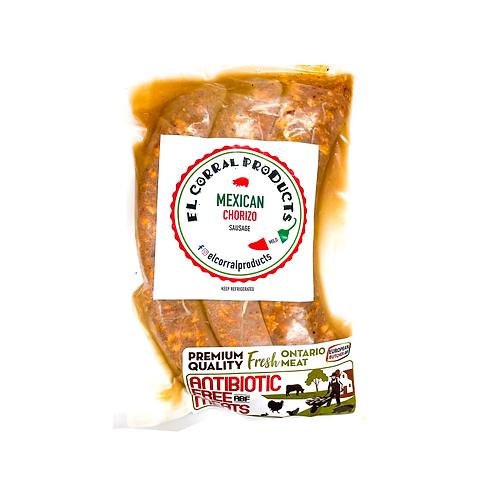 Mexican Chorizo El Corral (Mild) - 400 gr
