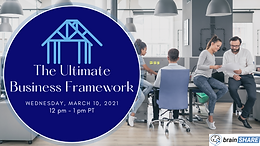 The Ultimate Business Framework