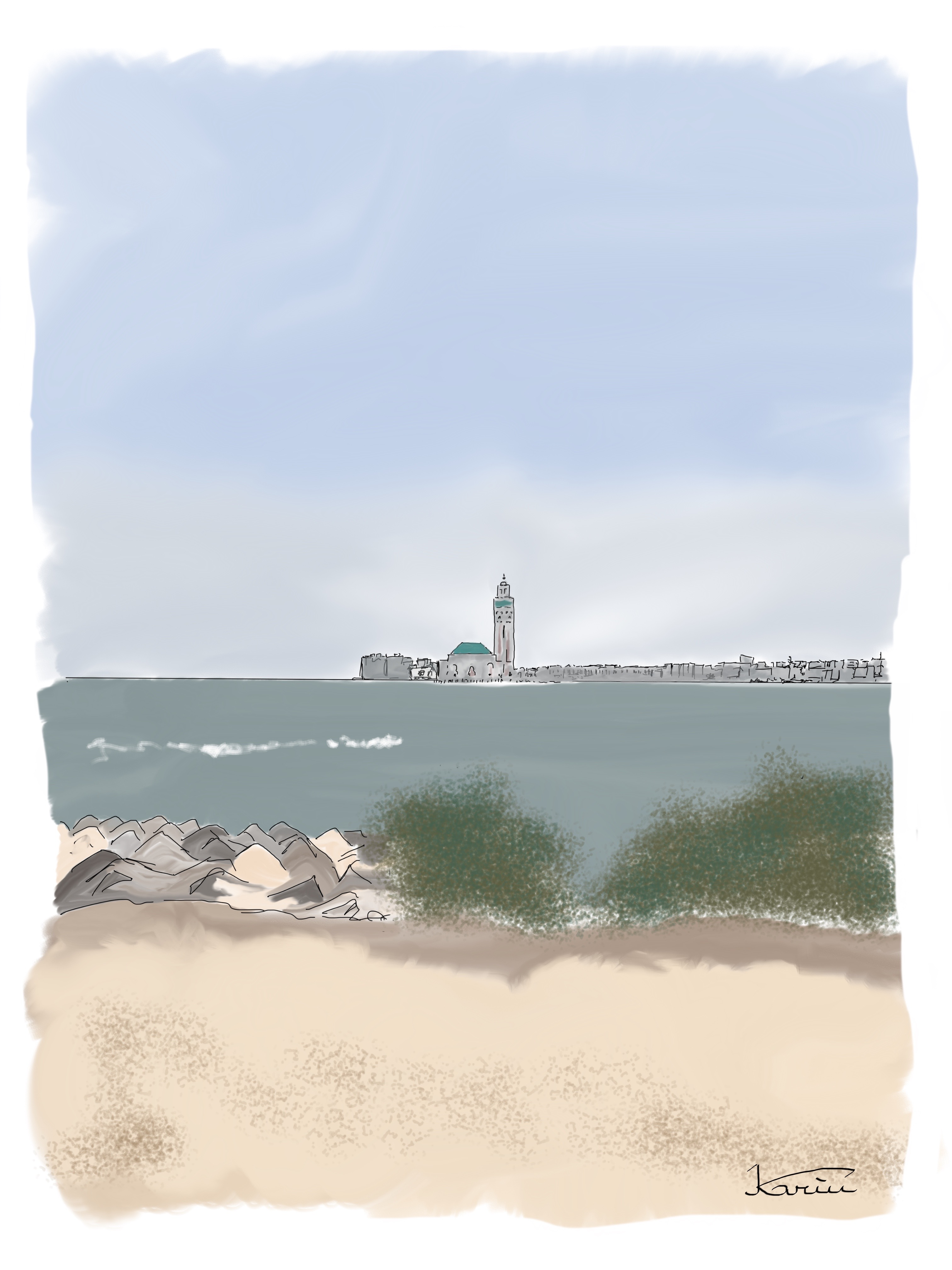 Casablanc, Carnets de Voyages