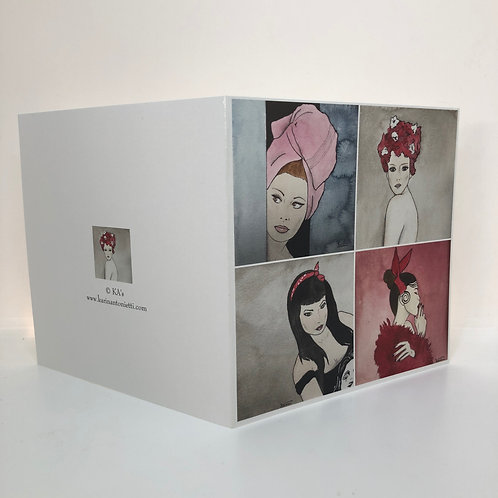 4 femmes -Carte