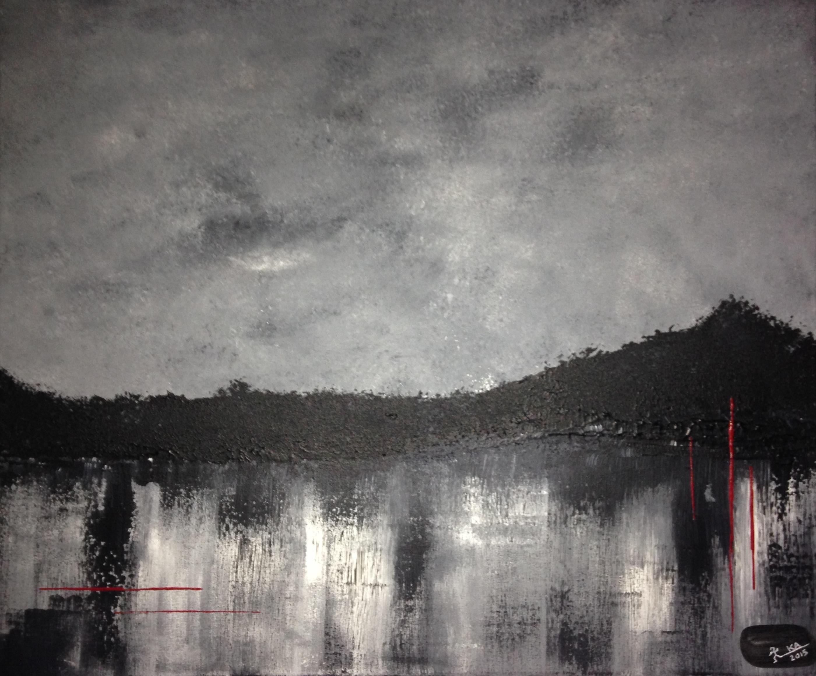 Acrylique, 60x50