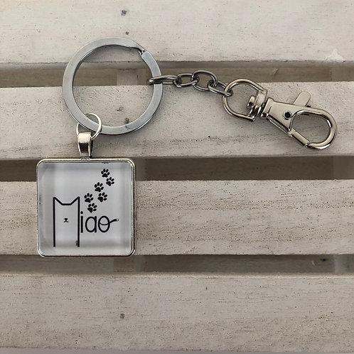 Porte-clés chat italophone