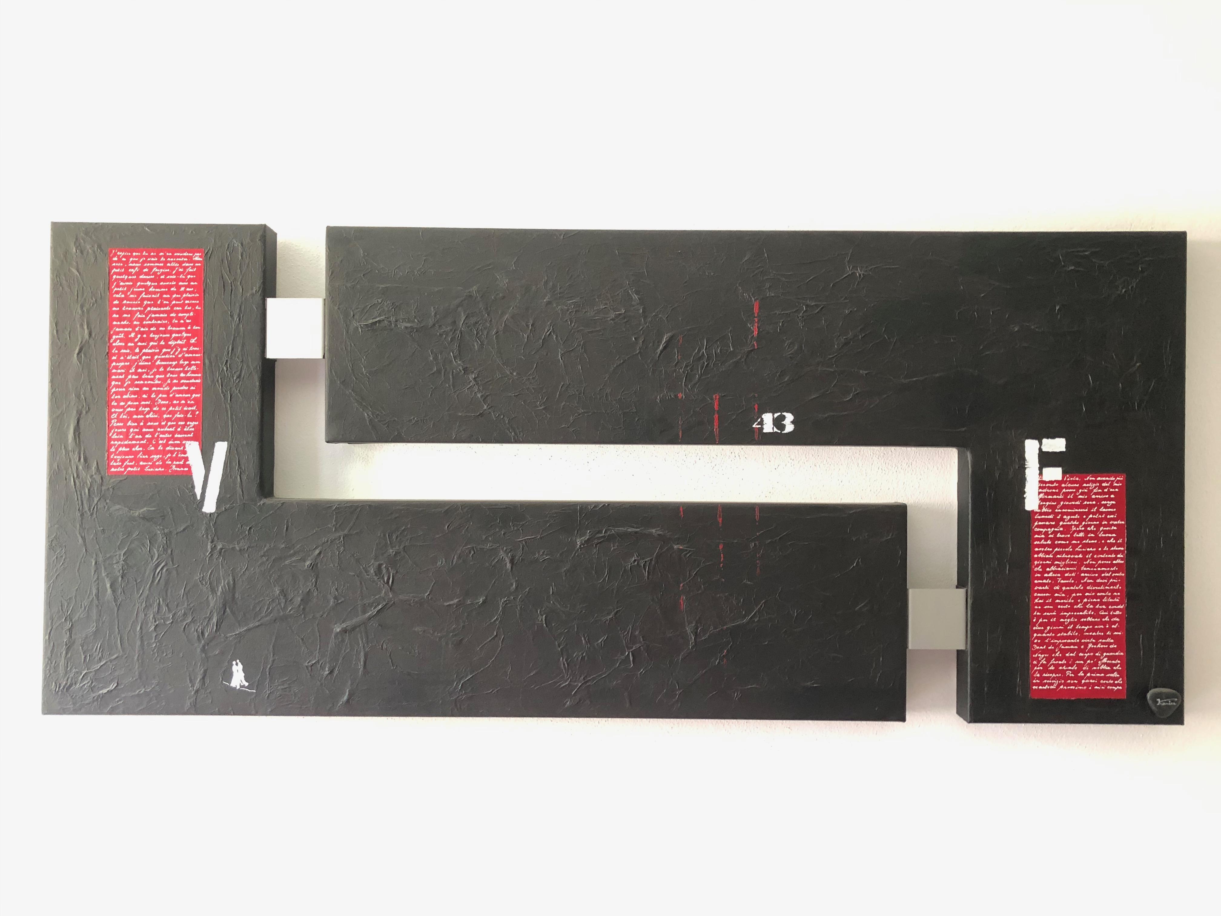 Techniques mixtes, 130x60
