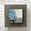 Thumbnail: Coccinelle - Aquarelle sur béton