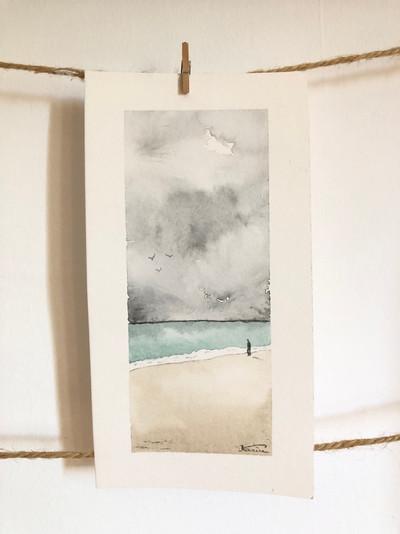 Aquarelle, 7x18