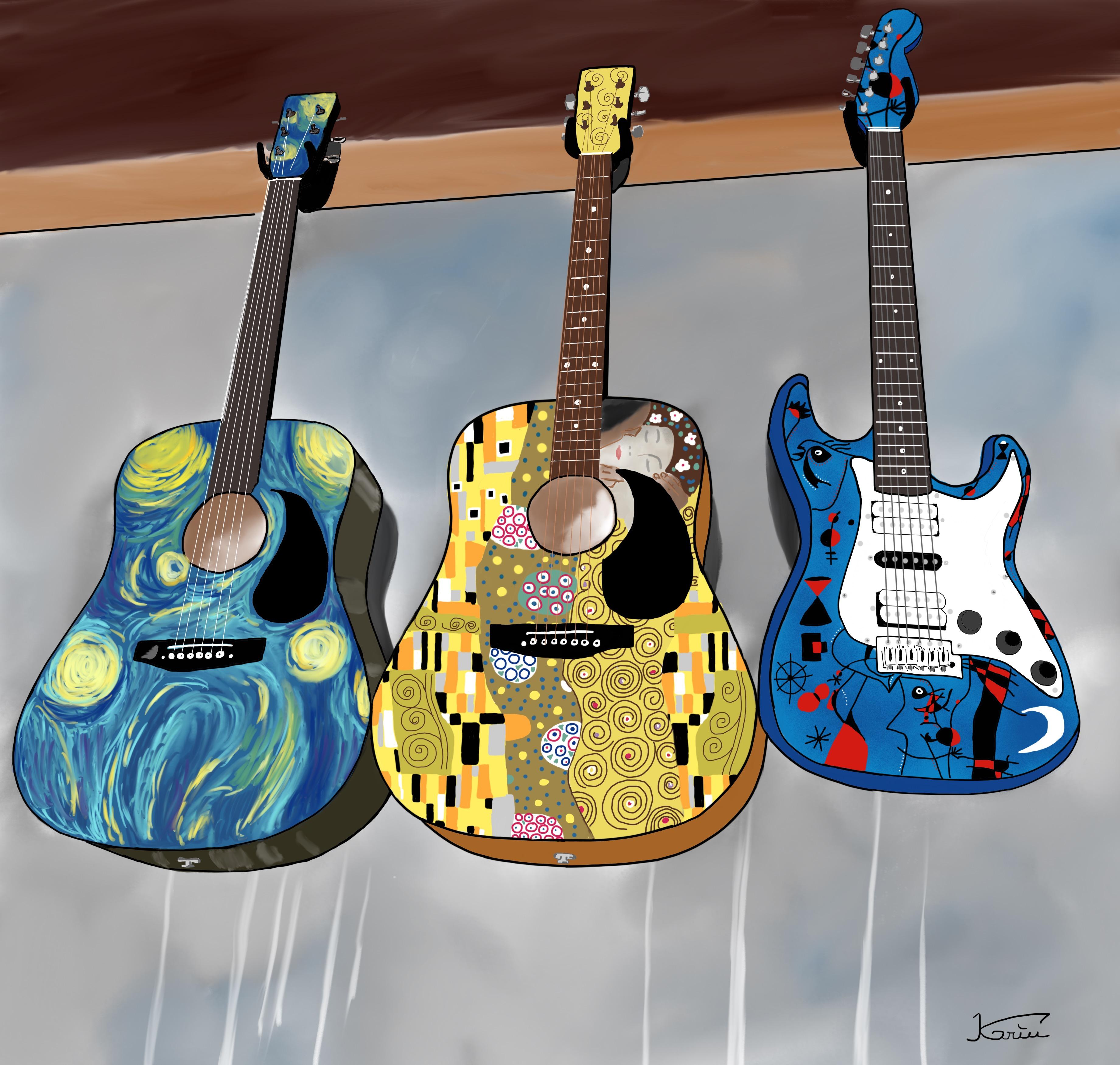 Guitares à Istanbul