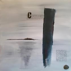 Acrylique, 40x40