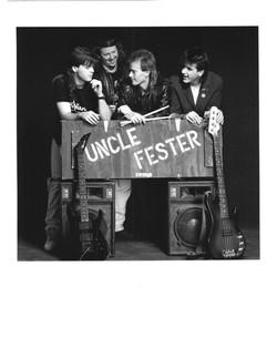 Uncle Fester B&W #5