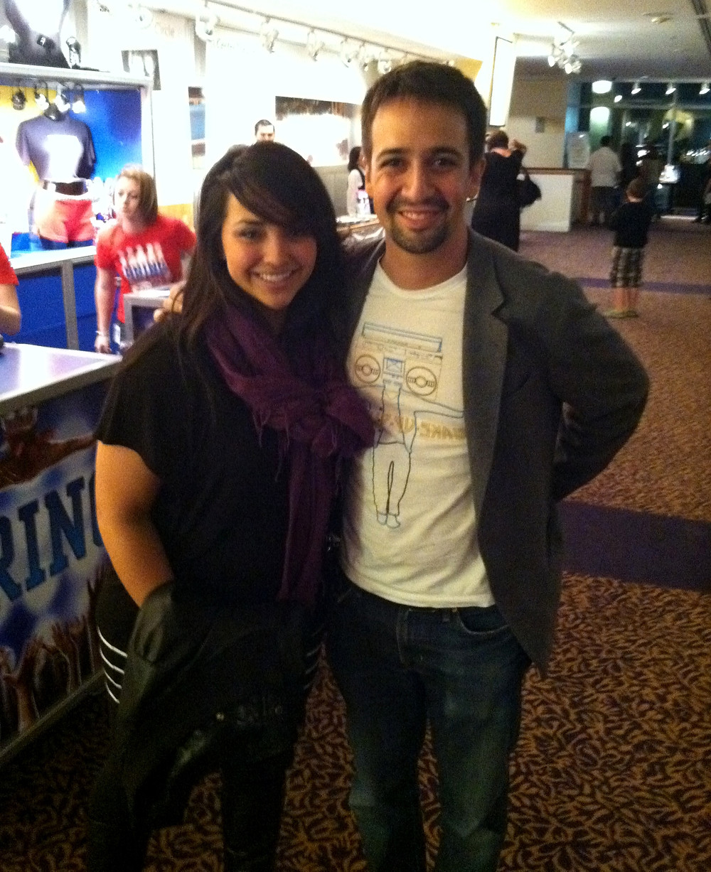 Lin-Manuel Miranda and myself!