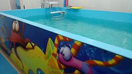 грудничковое плавание, бассейн для детей, соляная пещера