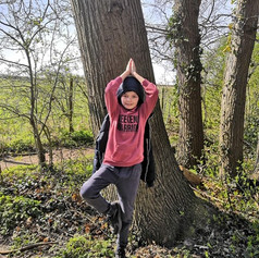 Tree Pose challenge during covid19