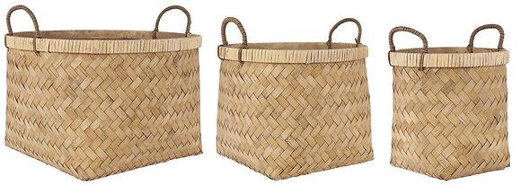 Panier en bambou - différentes tailles