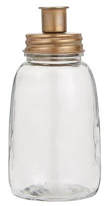 Bougeoir bouteille I laiton