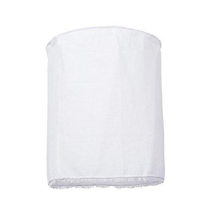 Suspension en lin blanc