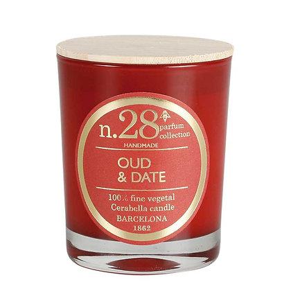 Bougie n°28 Oud & Date