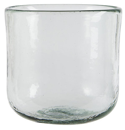 Pot en verre épais - grand modèle