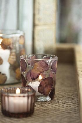Photophore pétales de rose - Petit modèle   IB LAURSEN