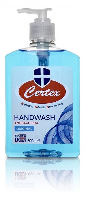 Pack of 24 CERTEX 'Original' 500ml Hand Wash