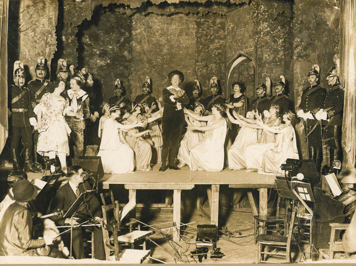 Pinner and Hatch End Opera on stage with