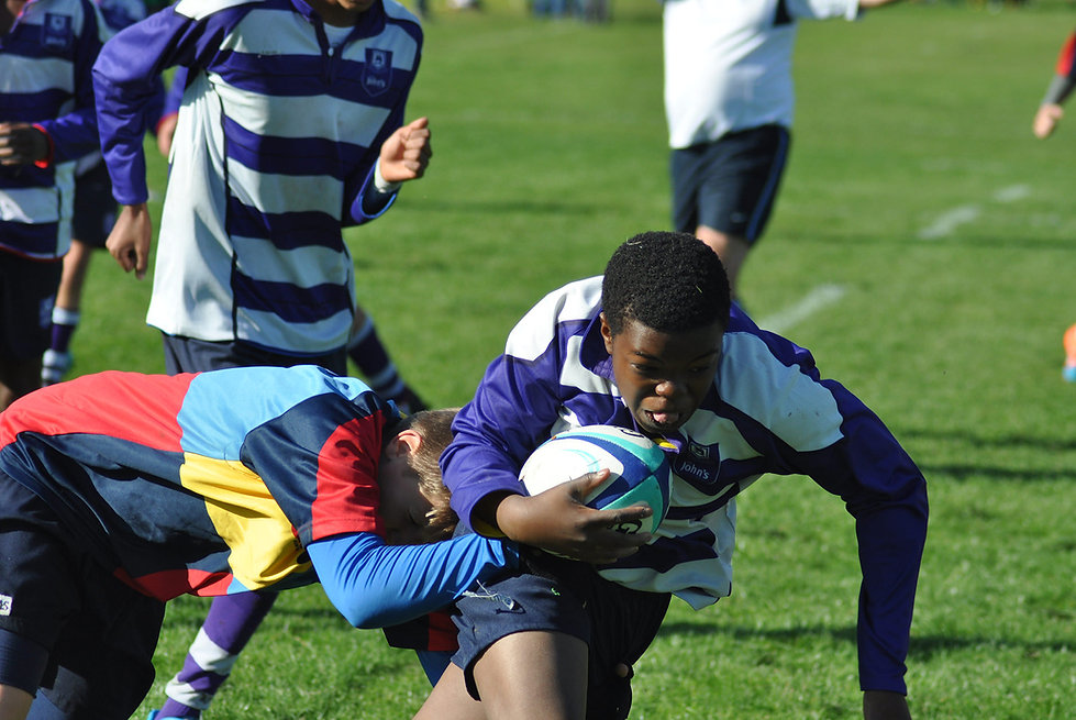 rugby is one of our main sports