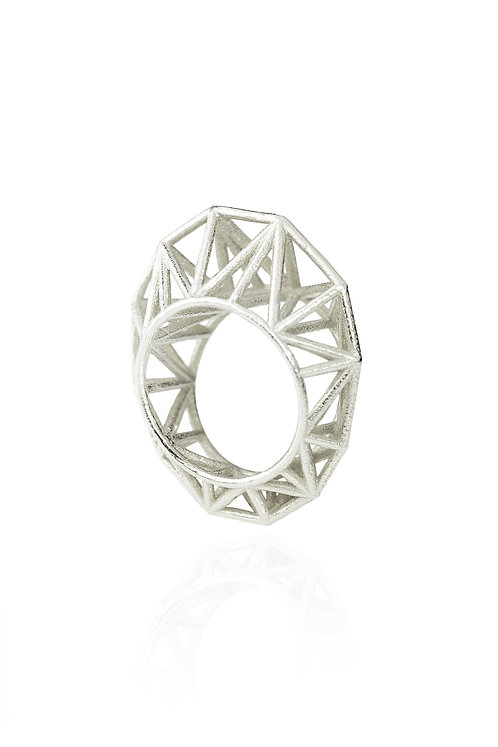 Liberty Statement Ring - silver