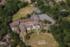 arial view of St John's