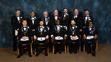 2019 Golden Rule Lodge Officers