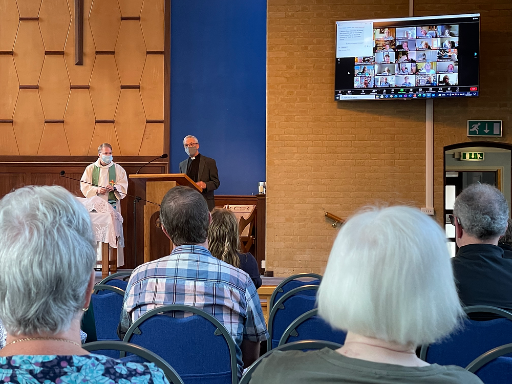 A Hybrid Synod in action