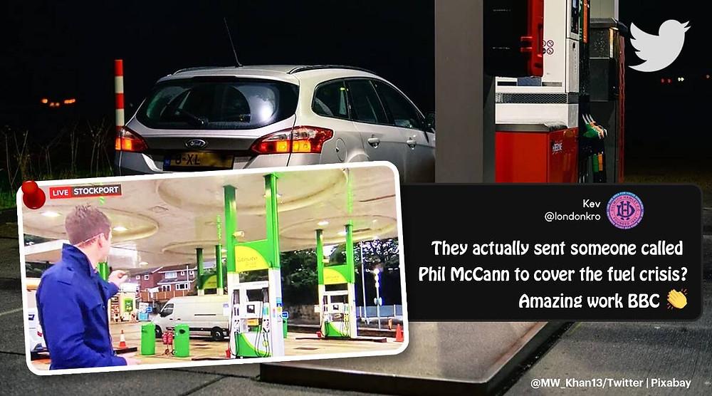 Petrol Crisis Reporter - Phil McCann