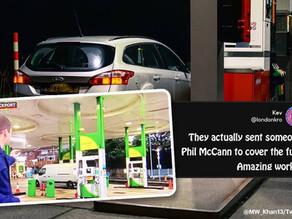 Petrol, petrol, petrol everywhere and not a drop to pump