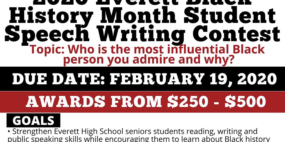 Black History Speech Writing Contest