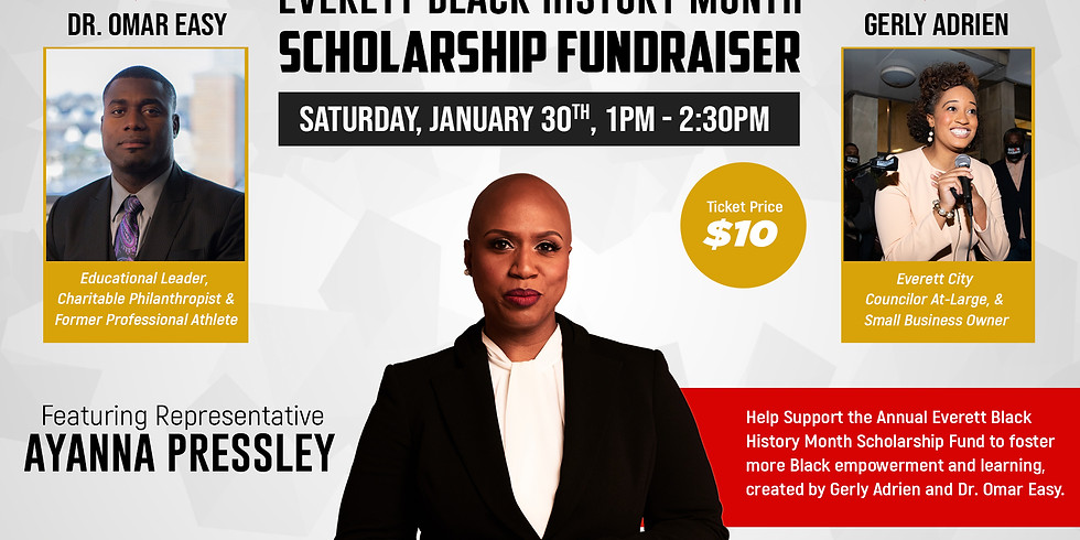 Black History Month Fundraiser With Rep. Ayanna Pressley