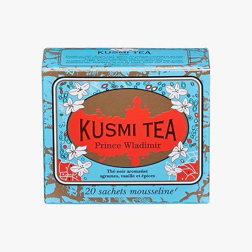 KUSMI TEA, PRINCE WLADIMIR, 20 TEABAGS [シンガポール配送のみ]