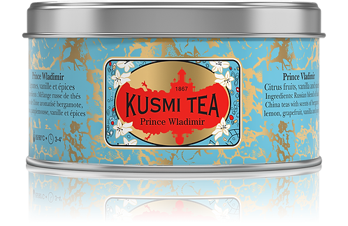 KUSMI TEA, PRINCE WLADIMIR, LOOSE TEA [シンガポール配送のみ]