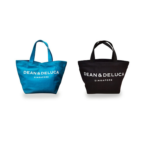 DEAN & DELUCA BONDI BLUE (S) & BLACK (S) TOTE BAG BUNDLE (50% Off) [シンガポール配送のみ]
