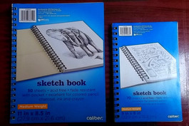 Caliber Sketch Book