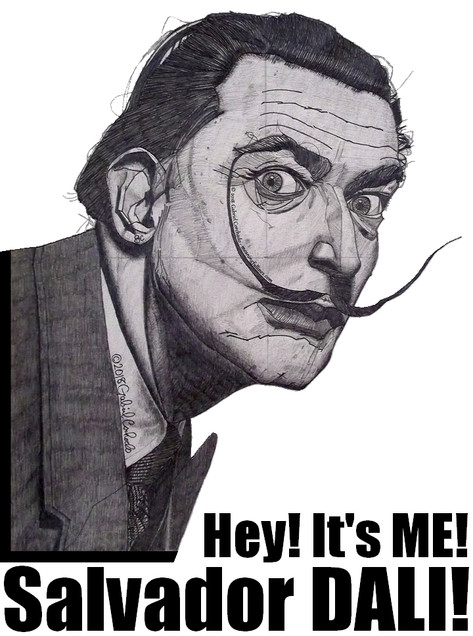 Hey! It's ME! Salvador DALI!