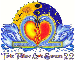 Twin Flame Love Swans 22