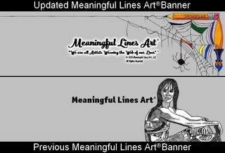 Meaningful Lines Art® Banner