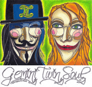 Gemini Twin Soul with Title