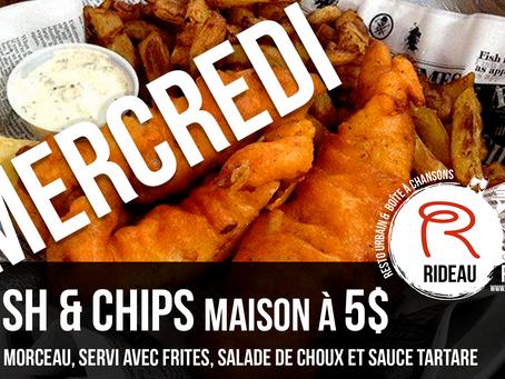 Mercredi - Fich N Chips Maison