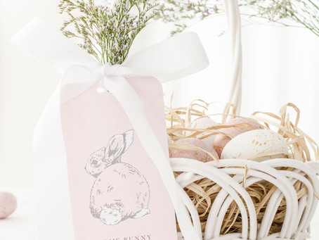DIY Hoppy Easter Tags