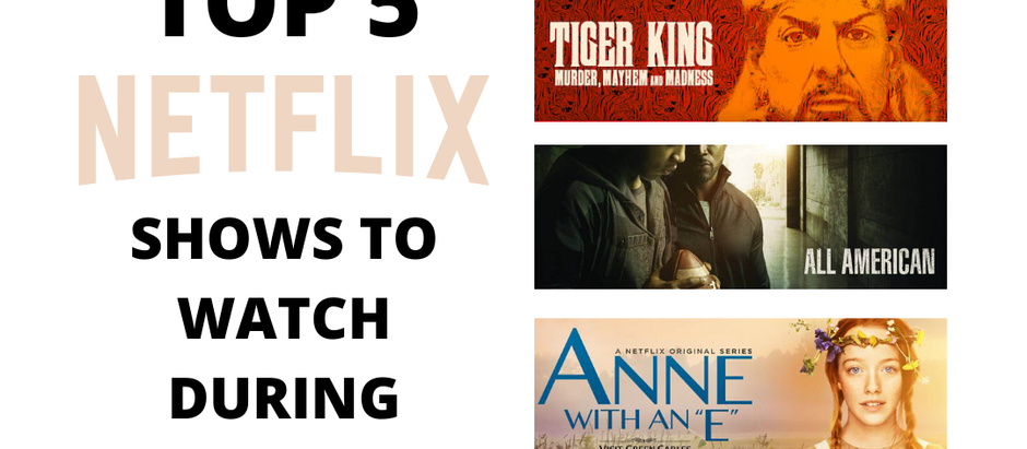 Top 5 Netflix Shows to Watch During Quarantine