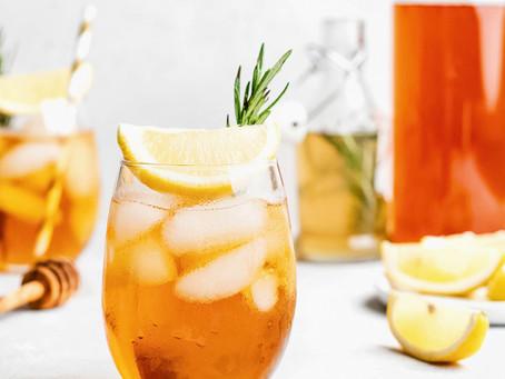Honey Rosemary Iced Tea