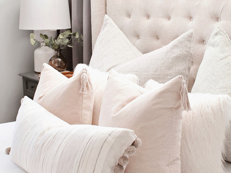 Pillow + Side Table Styling Guide