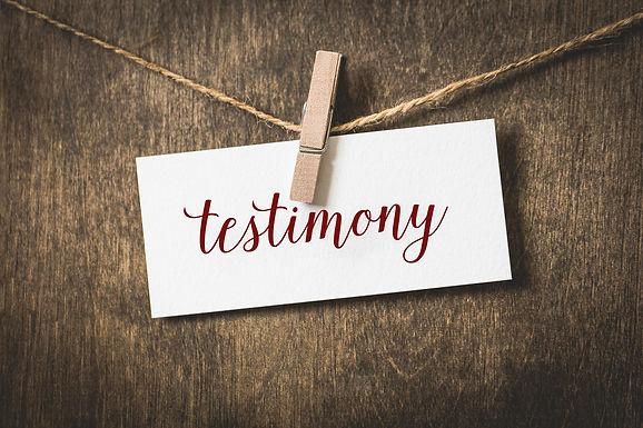 Praise God for so Many Testimonies at WSCOG!