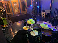 Live Room Behind The Drums @ GFM Recording Studios in Kansas City