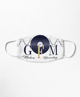 GFM Modern Recording Logo Mens Womens Mask