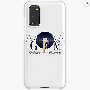 GFM Modern Recording Logo Samsung Galaxy Case