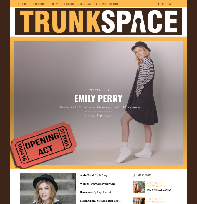 TRUNKSPACE MAGAZINE
